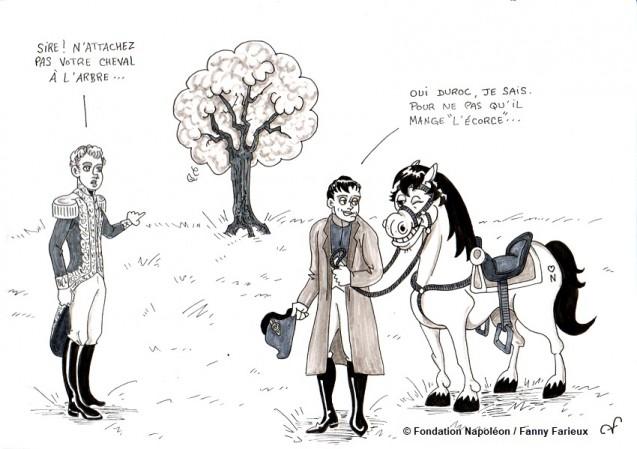 Série [Sourions avec Napoléon] : 11. J'en parlerai à mon cheval