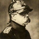 Portrait of Otto von Bismarck in 1870 [Photograph]