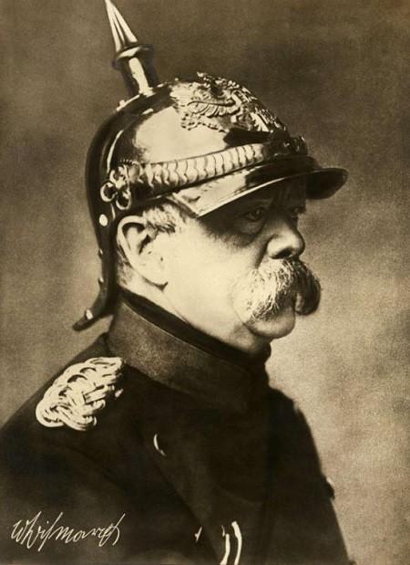 Portrait d'Otto von Bismarck en 1870 [Photographie]