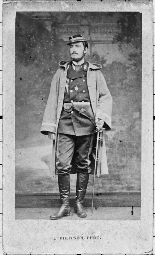 Alphonse de Neuville, officier de la Garde Nationale par Pierre Louis Pierson © Paris - Musée de l'Armée, Dist. RMN-Grand Palais / image musée de l'Armé