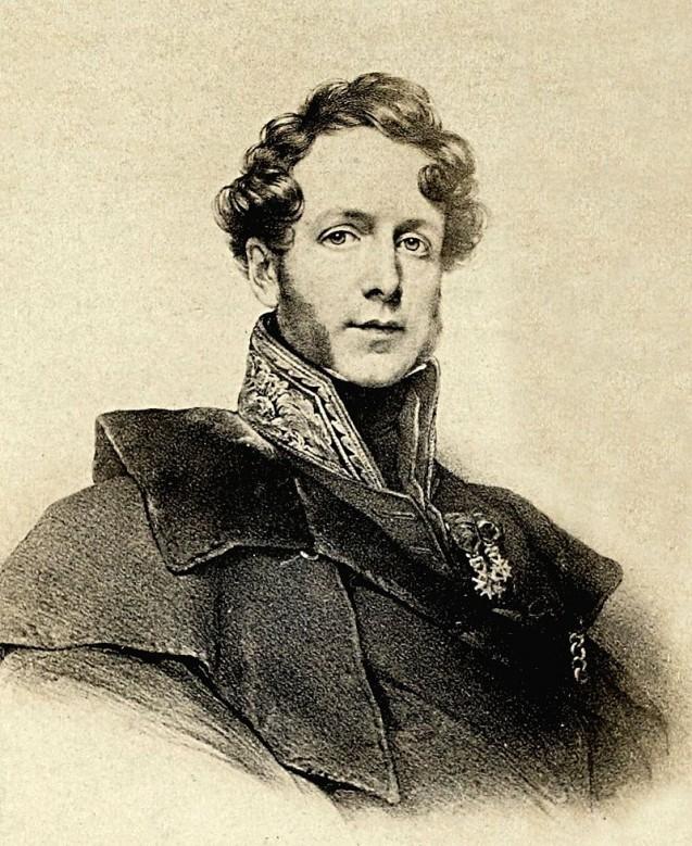 """Jacques Boucher de Perthes, concepteur de la notion d'""""homme antédiluvien"""" (1833) © Bibliothèque nationale de France"""
