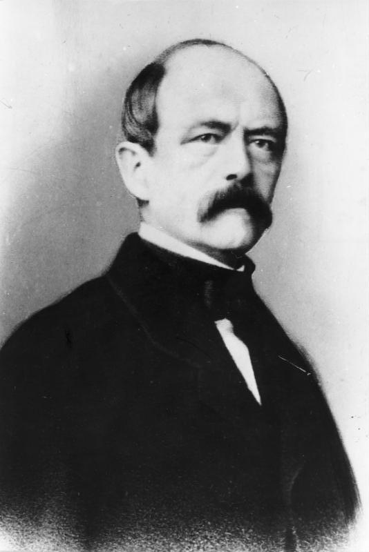 Otto von Bismarck, en 1862, année de son accession au poste de ministre-président du royaume de Prusse © Bundesarchiv