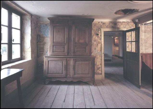 Chambre d'auberge de 1855 conservée dans son état © Maisondeladernierecartouche.com