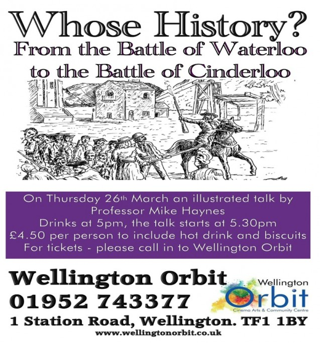 Whose history? from the Battle of Waterloo to the Battle of Cinderloo