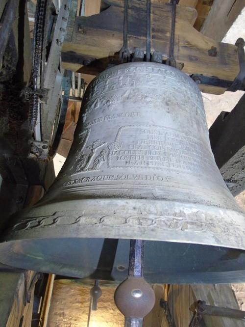 La cloche Sainte Anne dédiée au Roi de Rome