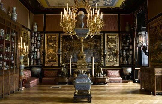 Le Musée chinois de l'impératrice Eugénie au château de Fontainebleau © RMN-Grand Palais (Château de Fontainebleau) / Gérard Blot