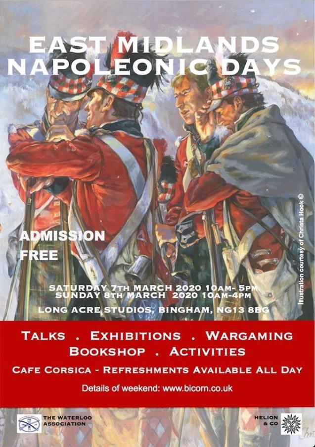 East Midlands Napoleonic Days