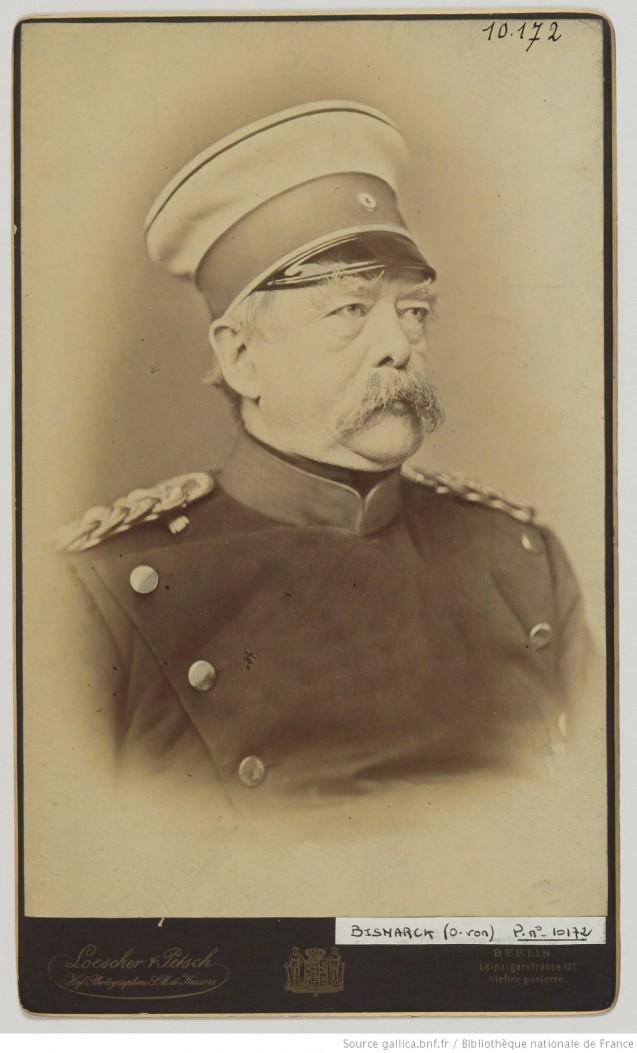 Otto von Bismarck, après 1875 © BnF/Gallica ark:/12148/btv1b105012004