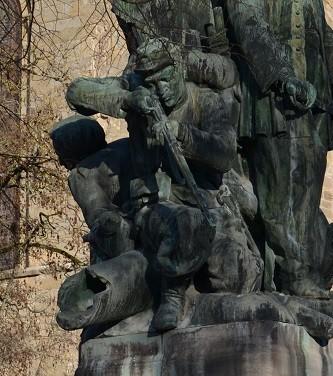 Delpech, garde mobile décédé après la chute du Second Empire <br>© Commune de Figeac. Photo : Stéphane Caray