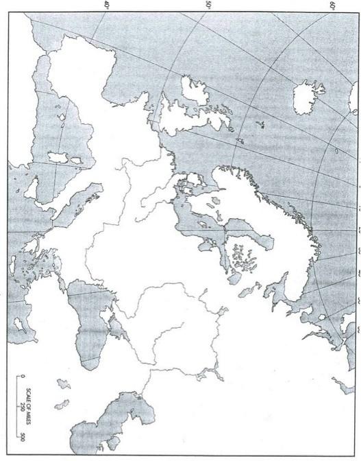 Carte de l'Europe © DR
