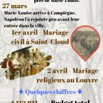Le mariage de Napoléon Ier et Marie-Louise