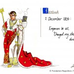 The Emperor changes his Facebook Profil photo