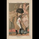 <i>Le régime parlementaire</i> – Caricature de Napoléon III, empereur des Français