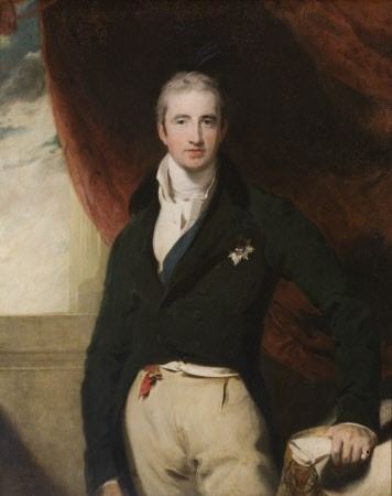 Robert Stewart, vicomte Castlereagh, 2e marquis de Londonderry<br>atelier de Sir Thomas Lawrence ©National Trust Images - John Hammond