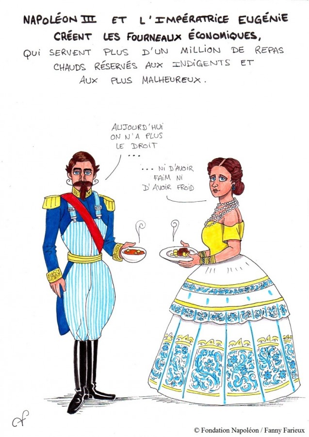 Série [Sourions avec Napoléon] : 17. ♪ Dans les restos, les restos d'l'Empereur ♫