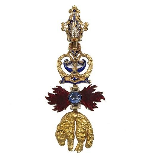 La Toison d'or du Prince impérial