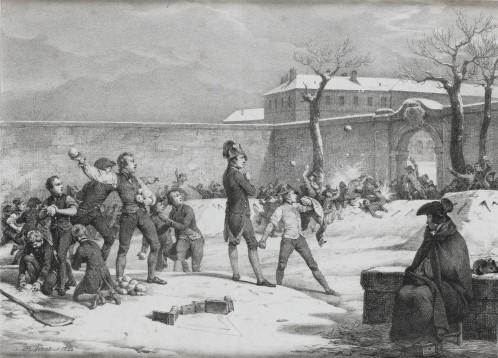 Enfance de Napoléon. Bataille de boules de neige à Brienne <br>© RMN-GP (Gérard Blot) / musée de la maison Bonaparte, Ajaccio