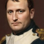 An artist's impression of Napoleon produced using a neural network (May 2020)