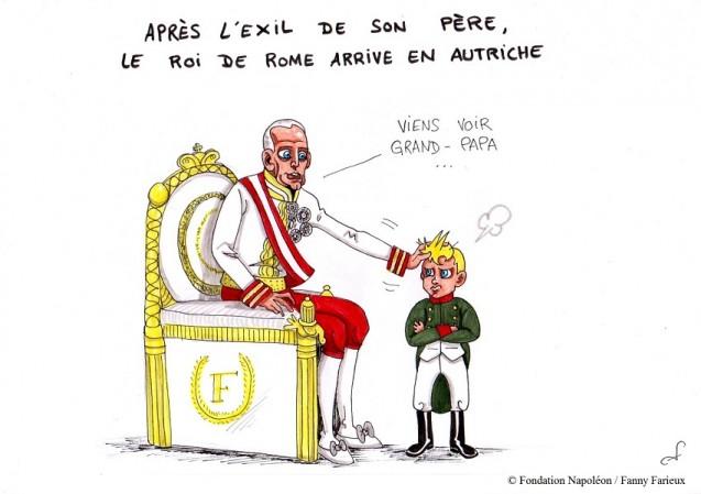 Série [Sourions avec Napoléon] : 23. L'art d'être grand-père