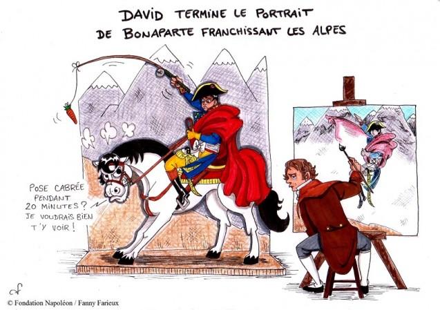 Série [Sourions avec Napoléon] : 25. Refus d'obstacle