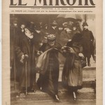 Empress Eugenie's last public appearance on Sunday 4 December 1919 (Cover story of Le Miroir N° 316)