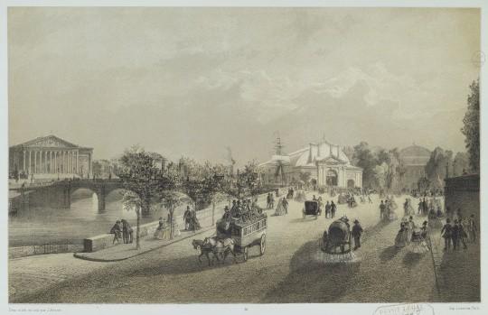 Exposition universelle de 1855 à Paris. Galerie de l'annexe. Jean Baptiste Arnout © RMN-Grand Palais - Agence Bulloz