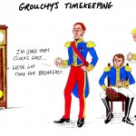 Grouchy's time-keeping