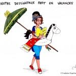 Série [Sourions avec Napoléon] : 27. Vacances de la dessinatrice