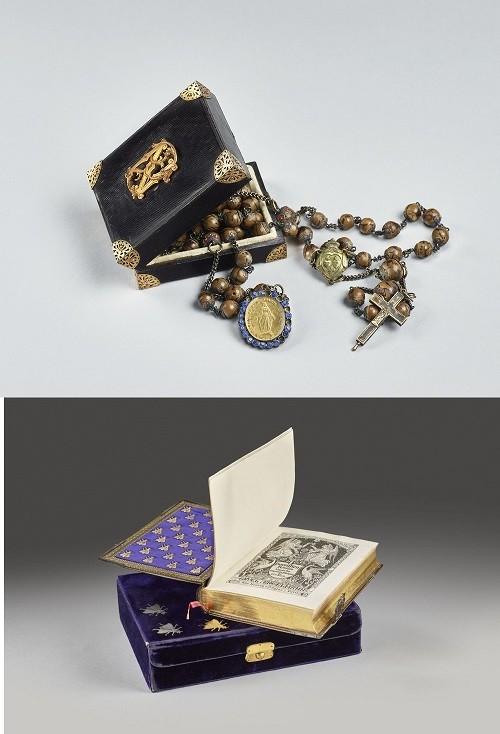 Quelques objets de dévotion de l'impératrice Eugénie