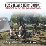 Les soldats hors du combat : moments de vie sur un campement