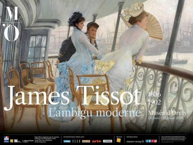 James Tissot. L'ambigu moderne