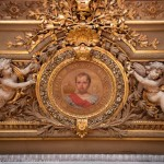 Decoration of the Sénat in Paris: portrait of the King of Rome