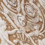 Décoration intérieure du palais du Quirinal : quand les anges remplacent les aigles impériales