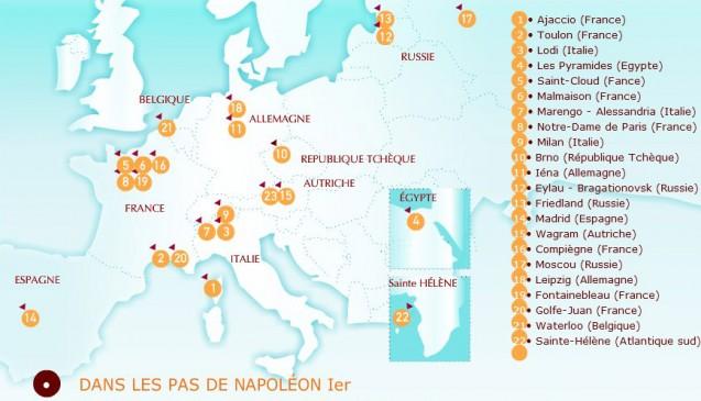 Dans les pas de Napoléon Ier…