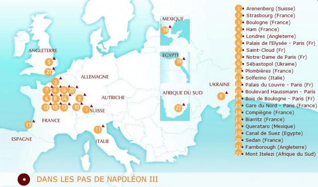 Dans les pas de Napoléon III…
