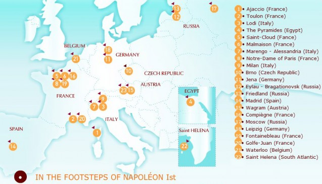 In the footsteps of Napoleon I…