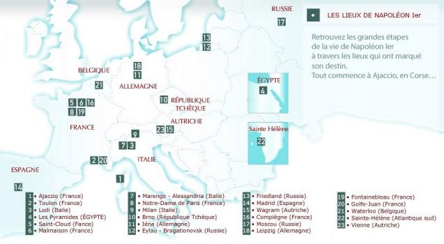 Les Essentiels > Les lieux de Napoléon Ier