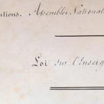 Document > Loi relative à l'enseignement du 15 mars 1850, dite Loi Falloux