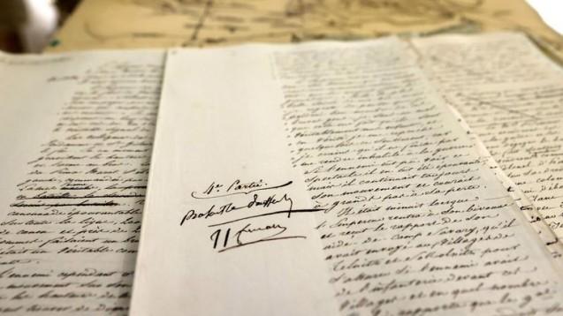 De la proposition à la vente d'un manuscrit dicté et corrigé par Napoléon portant sur la bataille d'Austerlitz (janvier 2021)