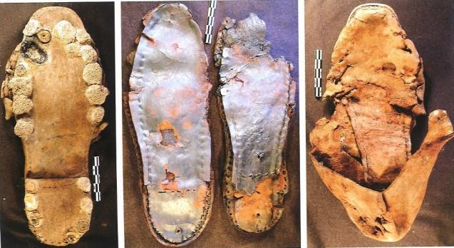 Chaussures d'un fantassin sous le Premier Empire © DR
