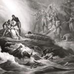 Allégorie de l'exil et de la mort de Napoléon à Sainte-Hélène, ou Le tombeau de Napoléon