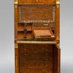 A fall-front 'secrétaire' (writing desk)