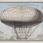 Projet de machine aérostatique présenté à l'Académie des sciences