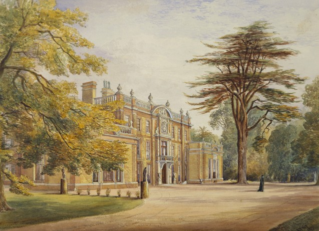 Camden Place, à Chislehurst, en Grande Bretagne : la dernière demeure de Napoléon III