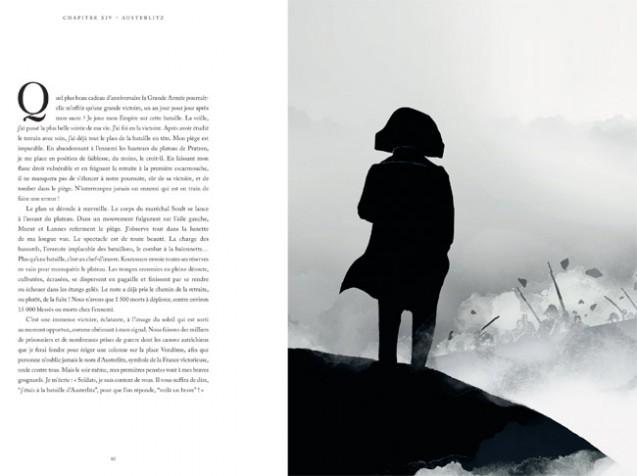 Moi, Napoléon, par V. Mottez et Br. Wennagel (Austerlitz, page intérieure) © Unique Heritage Editions 2021