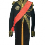 Habit de grand uniforme de général de division du général comte Bertrand