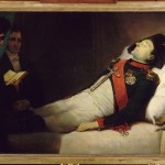 Napoleon on his deathbed, one hour before being shrouded