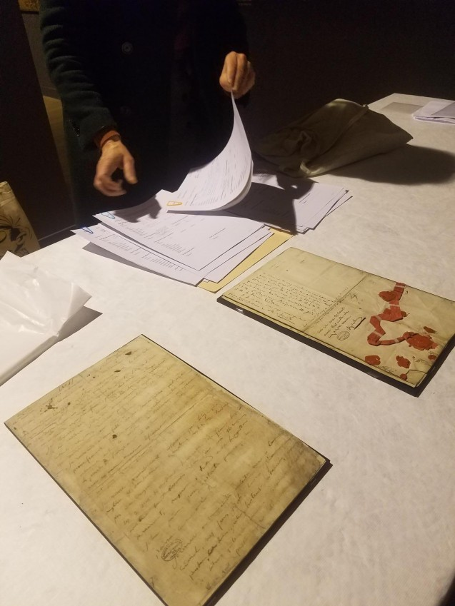 Prêté par les Archives nationales, le testament de Napoléon rejoint l'exposition Napoléon n'est plus © Archives nationales/Musée de l'Armée/Chantal Prévot
