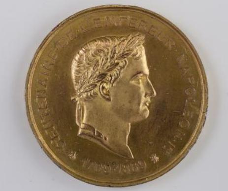 Médaille du Centenaire de la naissance de l'empereur Napoléon Ier, 15 août 1869 © Musée Carnavalet