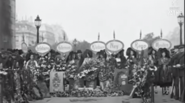 [2021 Année Napoléon] 5 mai 1921, le centenaire de la mort de Napoléon